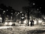 Dublin Under Snow 8 by superflyninja