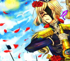 Contest Entry : Admiral Emil of French Navy by RitterZaki