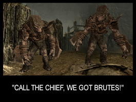 Call the Cheif, we got Brutes! by Cinn-Ransome