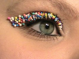 Sweet Candy Eye2 by The-Dragoness