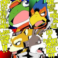 Star Fox Stickers by kentaropjj