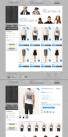 Mode Online Shop by h1xndesign
