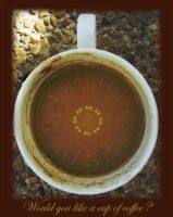 Cup Of Coffee by Zrinka
