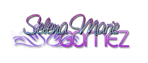 Selena Marie Gomez Png by MaddieLovesSelly