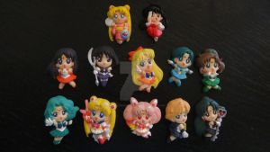 Sailor Moon Magnets by sailormarscollection