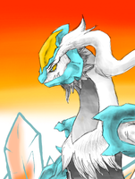 White Kyurem by EVNator518