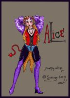 New Improved Colored Alice by WoolSocks