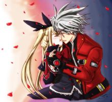 Rachel and Ragna Magnet by Sanoshi