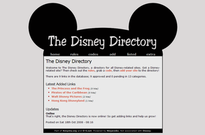 The Disney Directory by disdainful-soul