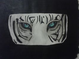 Blue Tiger's Eyes by DemonRed6