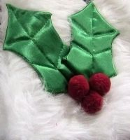 Holly Fabric Applique by SweetSoulSister