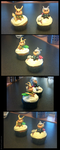 Thor and Loki cupcakes by GoreChick