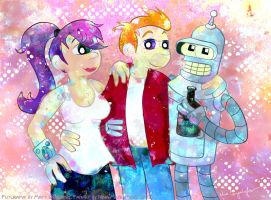 Futurama - my style by MissNeens