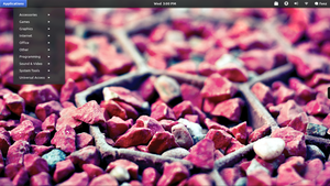 Gnome shell Desktop by mraz-01