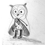 Owl. by Astaillustration
