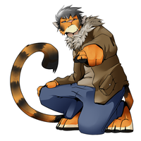 Me as a Tiger. by TheDarkShadow1990