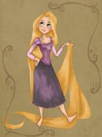 Rapunzel..again by Ninidu