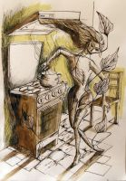 Eve in the kitchen by Ralu77