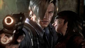 Leon Kennedy and Helena Harper by Diimitrii