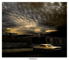 2012: The Parking Lot by Anthonym