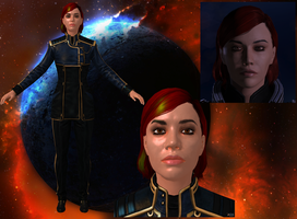 Customized Shepard of @Loutino by Melllin