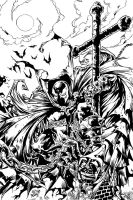 Spawn Inks by DaveLungArt