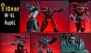 Kup and Perceptor IDW-ized by phtoygraphy