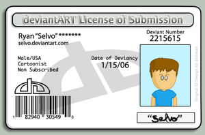 License to submit by Selvo