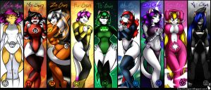 Wallpaper 'Lanterns chan' by Natysart