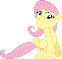 Fluttershy - Cute Face by xRainbowSugar