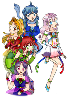 Queens of the seasons, song of the Universe by chiyako92
