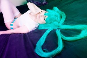 Hatsune Miku: Sing me a bedtime story? by PurelightCos