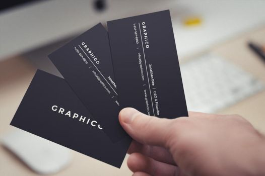 Simple Personal Business Card by nazdrag