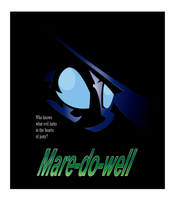 Mare-do-well poster by UP1TER