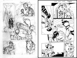 Gemini 4::15 rough and inked by Red-J