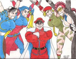 Street Fighter Game Over by Crash2014