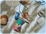 Beach toys necklace by Bojo-Bijoux