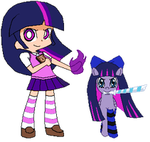 Twilight And Stocking by DMN666