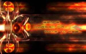 space cursed fire,hate to feel by serezmetin