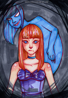 Scary Monsters (and Super Creeps) by MadBlackie