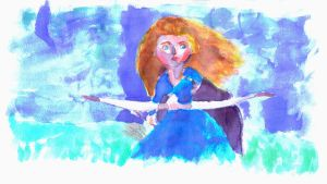 Merida from Brave by GerryIsNear