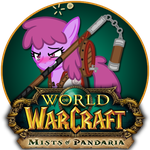MLP World of Warcraft Pandaria Icon by rellawing