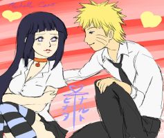 naruhina high school by shelly-14