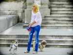 Afternoon Promenade in Bucharest by Rikitza
