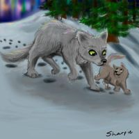 Wolves by sharkie19