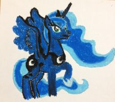 Princess Luna by lionandwolfe