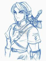 Link - rough sketch by TixieLix