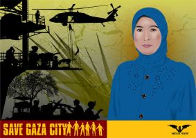 Save Gaza City by saldeesign