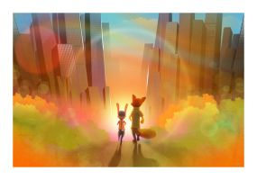 Zootopia by AndyFairhurst