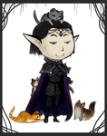 Eurefin the Demon King and the Cats of FR by Bulbiekins